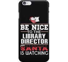 Library Director iPhone Case/Skin