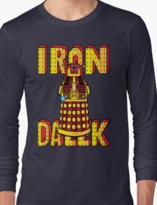 IRON DALEK Long Sleeve T-Shirt