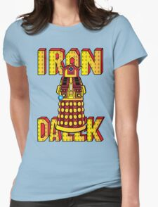 IRON DALEK Womens Fitted T-Shirt