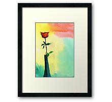 Red Rose 1 Framed Print