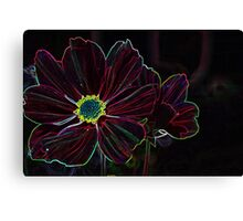 neon red Canvas Print
