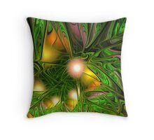 Jungle Breeze Throw Pillow