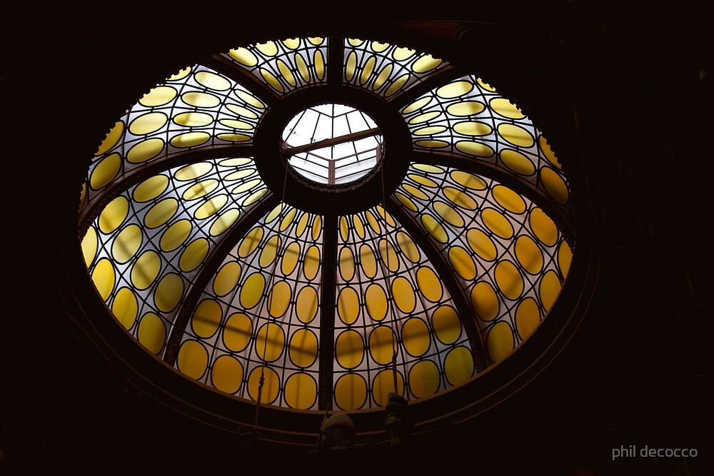 Glass Dome  by phil decocco