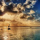 Walking on water by Chris Brunton