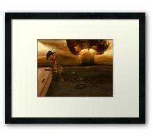 Nuke the Fridge - Aftermath Framed Print