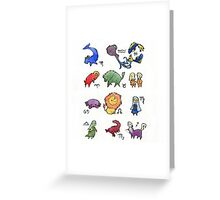 Zodiacs  Greeting Card