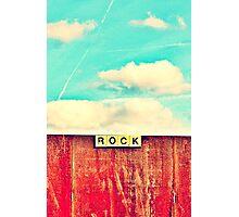 ROCK Photographic Print