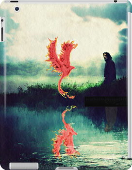 """I-pad """"New Master"""" Snape and Fawkes by scatharis"""