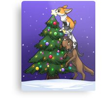 Tree Topper Tower Metal Print