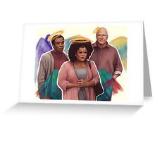 Fallen Angels Greeting Card