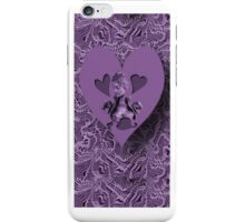 ღ♥¸¸.•*´¯`♥ღ PURPLE HEARTS OF LOVE IPHONE CASE  ღ♥¸¸.•*´¯`♥ღ iPhone Case/Skin