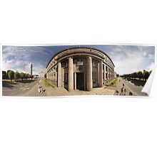 The Cabinet of Ministers of the Republic of Latvia, Riga panorama Poster