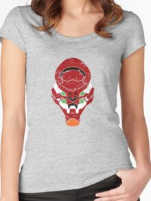 Eva Unit-02 Women's Fitted Scoop T-Shirt