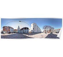 Riga Castle panorama, Riga, Latvia Poster