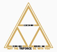 May the Triforce be with you Kids Clothes