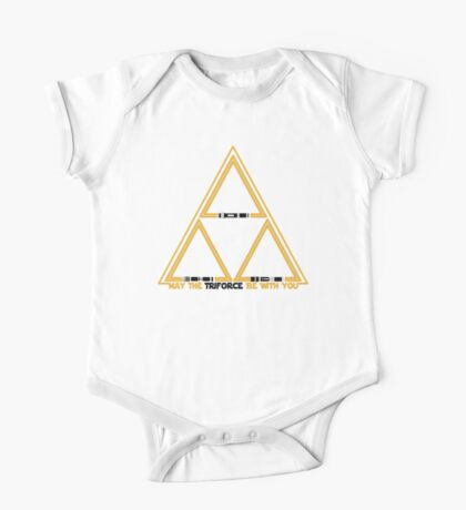 May the Triforce be with you One Piece - Short Sleeve