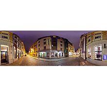 Two ways out panorama, Riga, Latvia Photographic Print