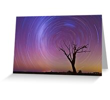 South Celestial Pole! Greeting Card