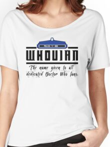 Whovian definition Women's Relaxed Fit T-Shirt