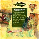 &quot;A Successful Marriage&quot; Collage  by Sandra Foster