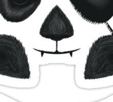 Panda Pirate Sticker