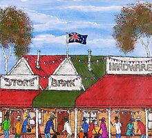 """""""Australia Day in the outback"""" SOLD 24/02/2013  by EJCairns"""