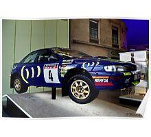 1995 Subaru Impreza Poster