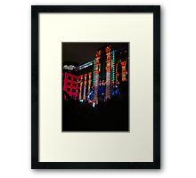 Vivid Nights Framed Print