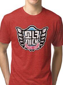 SNSD: I Got A Boy - Emblem(Leaves Ver.) Tri-blend T-Shirt