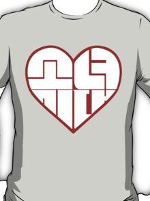 SNSD: Heart Emblem T-Shirt