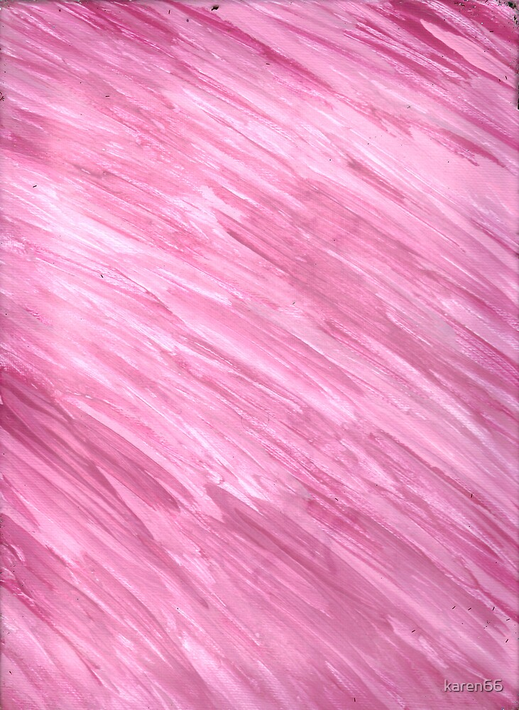 PINK ON CANVAS by karen66