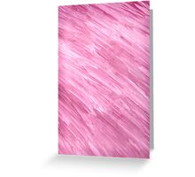 PINK ON CANVAS Greeting Card