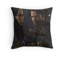Robb and Talisa (Mild Spoiler Alert) Throw Pillow