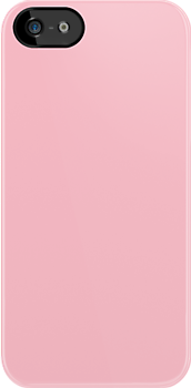 Pink Fabric Print Iphone Case by Detnecs2013