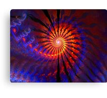 The Fire Down Below Canvas Print