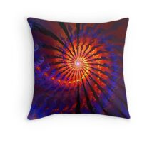 The Fire Down Below Throw Pillow