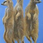 Meerkats by Carole Russell