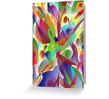 Colorful World! Greeting Card