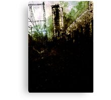 Empty Spaces Canvas Print