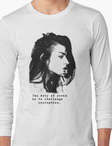 Bean Cobain Long Sleeve T-Shirt