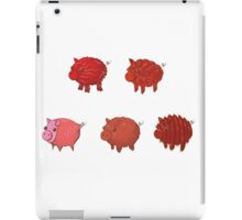 Pigs made of Pork Products! iPad Case/Skin