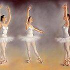 Studies of a Ballet dancer by Margaret Merry