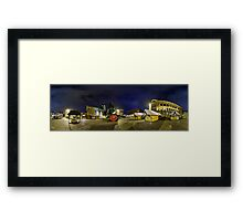 Creative district on Miera street, Riga, Latvia Framed Print