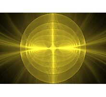 Fractal - Christ - Holy Cross Photographic Print