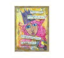 Queen, Starter of Fires Art Print