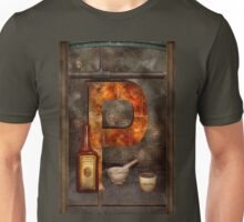 Steampunk - Alphabet - P is for Pharmacy Unisex T-Shirt