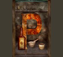Steampunk - Alphabet - P is for Pharmacy T-Shirt