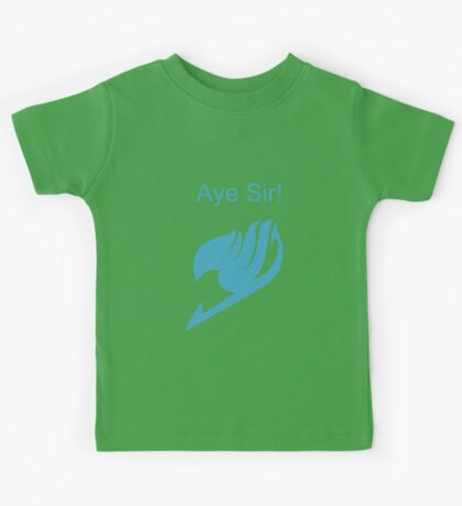 Fairy Tail Aye Sir! Kids Tee