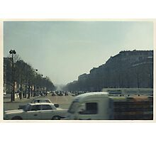 Champs Elysees, Paris Photographic Print