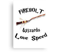 Harry Potter - Firebolt Canvas Print
